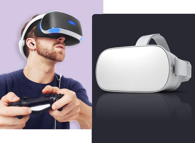 Dispositifs de réalité virtuelle en jeux vidéo